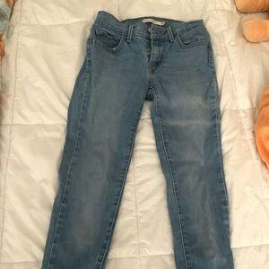 Light blue super skinny jeans from LEVIS.